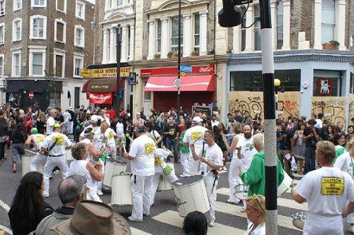 Sambaband Batedeira | Notting Hill Londen